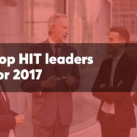 Photo courtesy of Health Data Management: Top 50 HIT Leaders for 2017